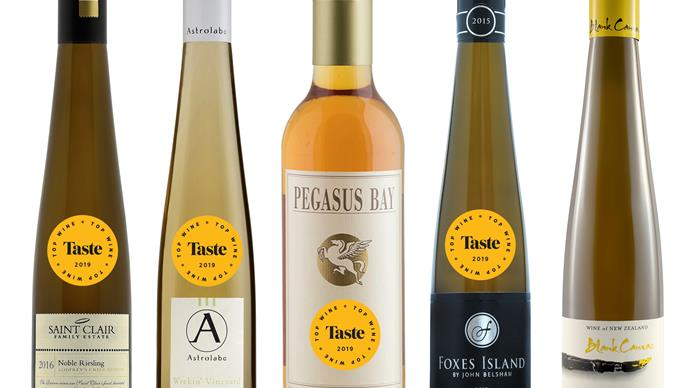 The best sweet wines from Taste's Top Wine Awards 2019
