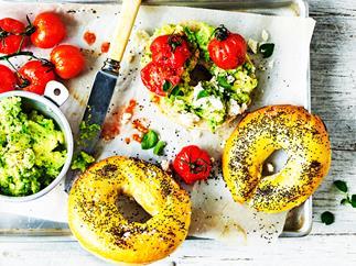 Gluten-free poppy seed bagels