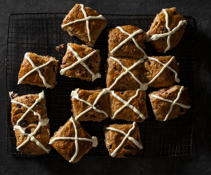 How to make your own Easter hot cross buns