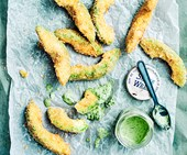 Crispy avocado fries