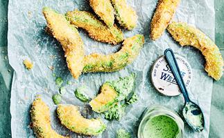 Crispy avocado fries