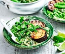 Supergreen vegetable curry
