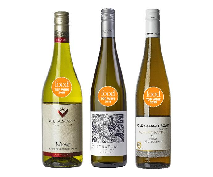 The best Riesling & other varieties from Food's Top Wine Awards