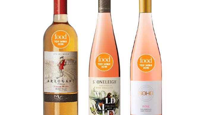 The best Rosé from Food's Top Wine Awards 2019