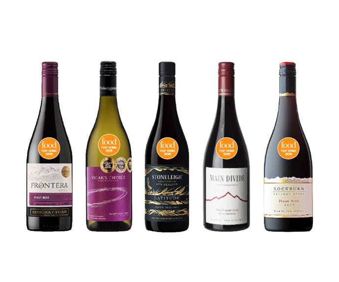 The best Pinot Noirs from Food's Top Wine Awards 2019