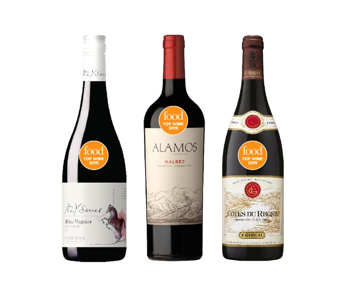 The best Shiraz/Syrah and blends from Food's Top Wine Awards 2019