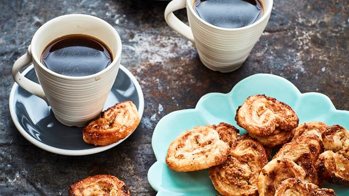 Cinnamon and nut palmiers