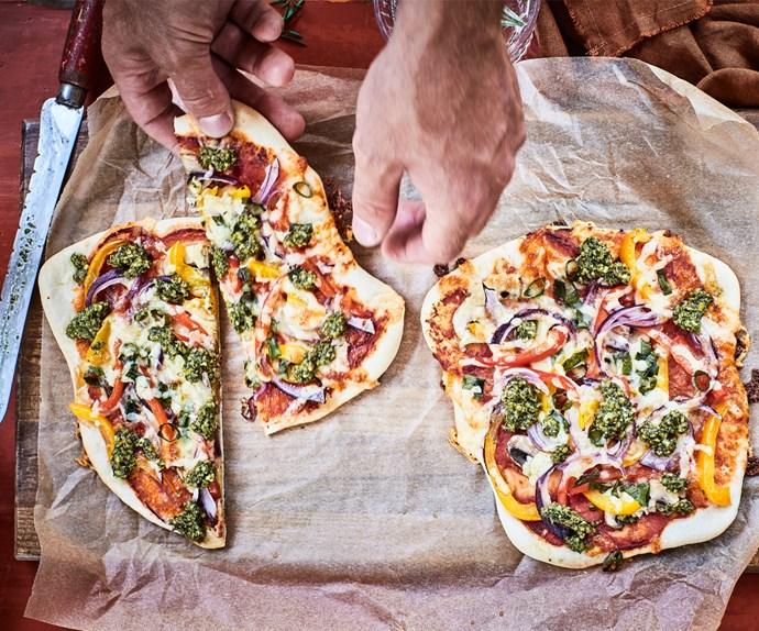 Nadia Lim's vege pizzas