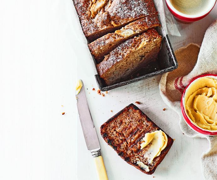 Feijoa and cinnamon breakfast bread