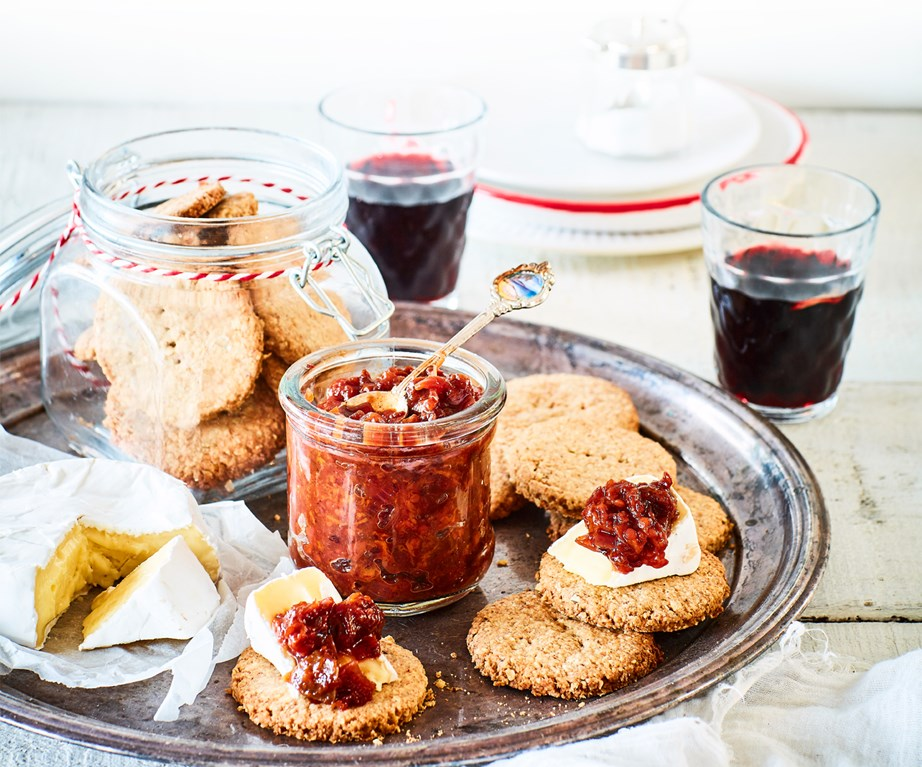 "[Tamarillo chutney with walnut digestives](https://www.foodtolove.co.nz/recipes/tamarillo-chutney-with-walnut-digestives-33565|target=""_blank"")"