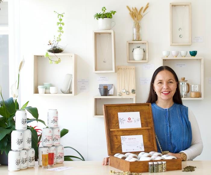 Meet Timmy Smith: the creative force behind a Waiheke Island jewellery and organic tea store