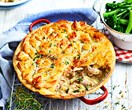 Chicken and thyme one-pan pie