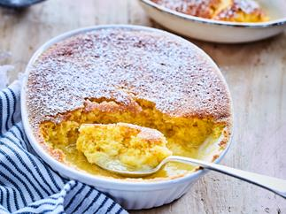 Orange and lime delicious pudding