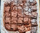 Gluten-free walnut chocolate brownie