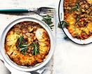 Potato and mushroom pie