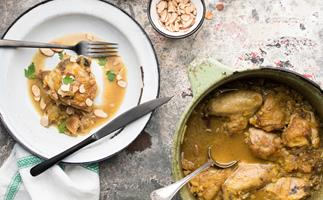 Chicken, fig and preserved lemon tagine