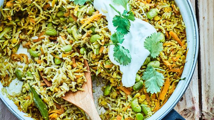 Detox rice and dhal