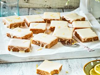 Easy zingy no-bake lemon slice