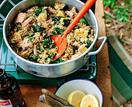 Five-minute tuna, rice and quinoa
