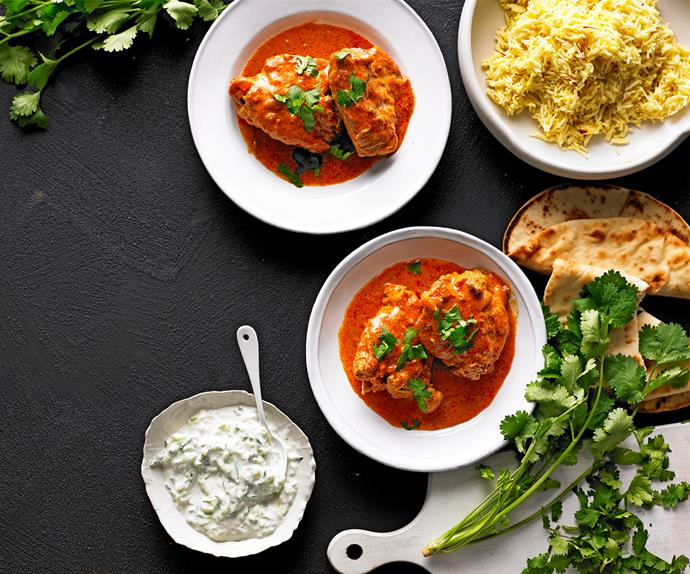 Best-ever butter chicken