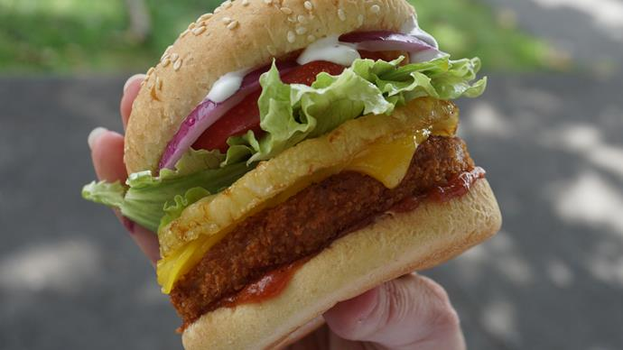 Vegan Chook Free Burgers BurgerFuel