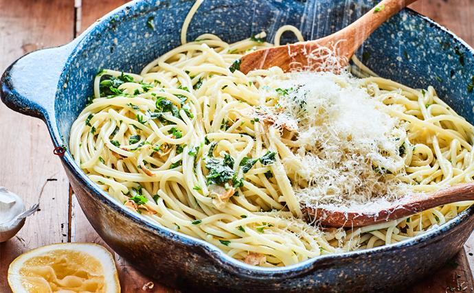 Nici Wickes' simple spaghetti