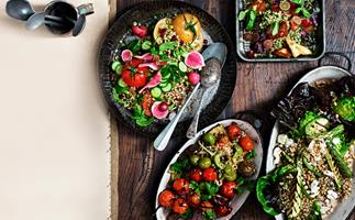 Four ways with: hearty winter salads