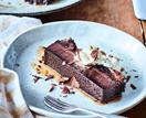 Chocolate milk terrine