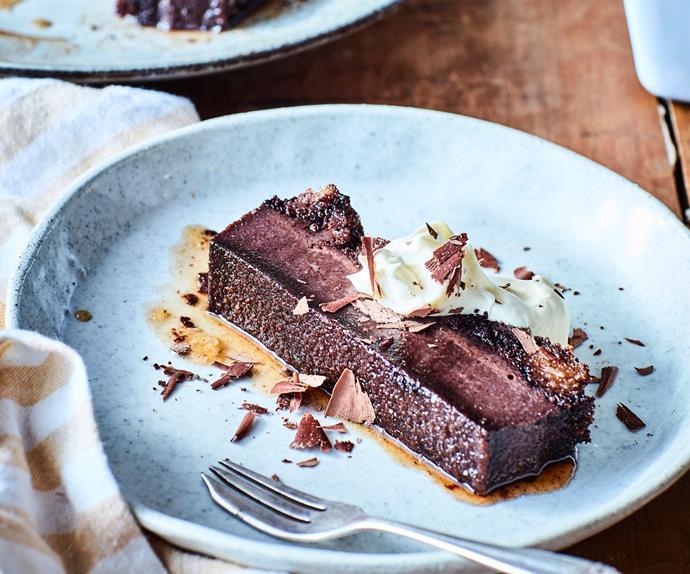 Chocolate milk terrine