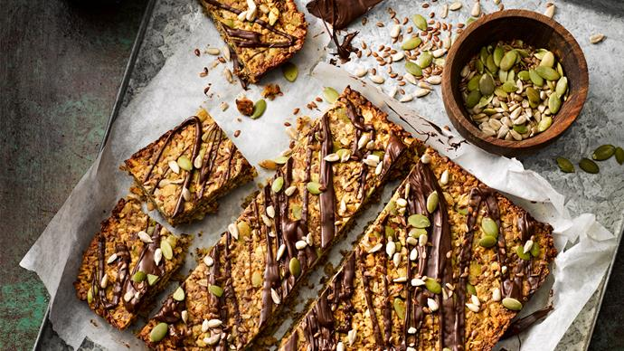 Seed and protein bars