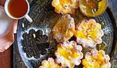 Baked ricotta tartlets with zingy orange zest