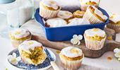 Dairy-free avocado and lemon muffins