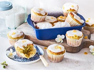 Dairy-free avocado and lemon muffins