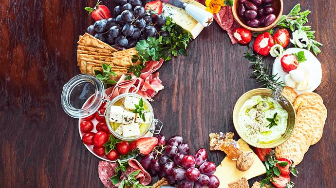 How to create the perfect Christmas grazing platter