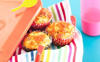 pancetta and cheese muffins