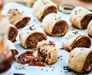 Gluten-free pork and fennel sausage rolls
