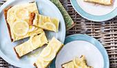 Gluten-free coconut citrus slice
