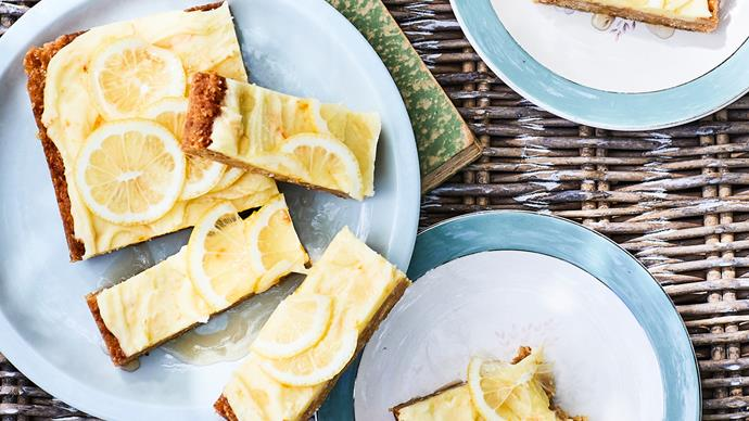 Coconut citrus slice