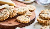 Savoury olive and rosemary cheese biscuits