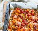Apricot chilli chicken bake