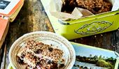 Sweet cranberry & hemp seed muesli bars