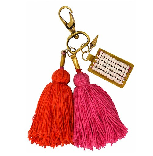 ****    FORGET ME NOT      Sass & Bide's Hello and Goodbye key ring, $60.      **[sassandbide.com](http://sassandbide.com)**