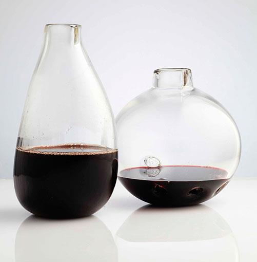 ****    ORGANIC WINE (VESSELS)      Hand-blown glass decanters by Sydney's Brian Hirst.      **[brianhirst.com](http://brianhirst.com)**