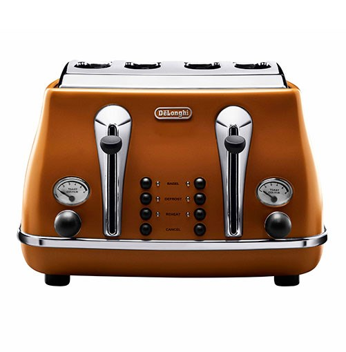 ****    KITCHEN CLASSIC      DeLonghi Vintage Icona toaster, in Etnica.      **[iconavintage.com.au](http://www.iconavintage.com/au_en/agency/)**