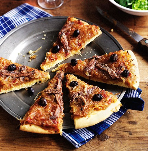 "[Pissaladière](https://www.gourmettraveller.com.au/recipes/browse-all/pissaladiere-8681|target=""_blank"")"
