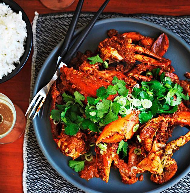Singapore chilli crab | Gourmet Traveller