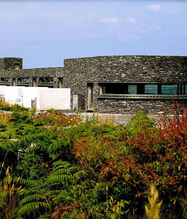 **** **Green isle**   Inis Meáin Restaurant & Suites in the Aran Islands.