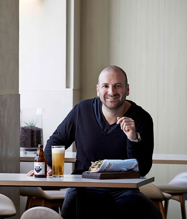**** **All Greek to him**   George Calombaris opens his souvlaki bar this year.