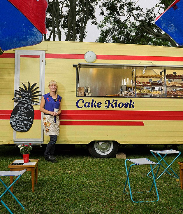 **** **Cake lady**   Jade Halloran and her pimped-out 1974 caravan, Cake Kiosk.