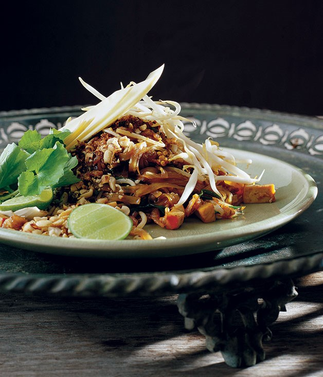 "[**Pad Thai**](https://www.gourmettraveller.com.au/recipes/chefs-recipes/david-thompson-pat-thai-7372|target=""_blank"")"